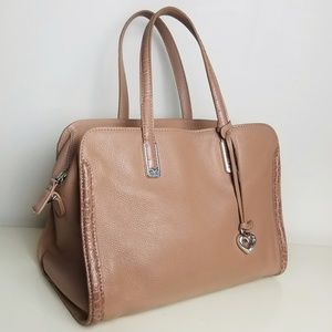 Brighton Pebbled Leather Handbag Purse Large